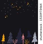 winter wonderland illustration. ...   Shutterstock .eps vector #1520973464