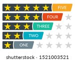 star rating icons. 5 stars in...