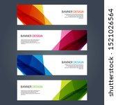 vector abstract design banner... | Shutterstock .eps vector #1521026564