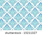 ottoman style wallpaper pattern ... | Shutterstock .eps vector #15211327