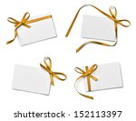 collection of various note card ... | Shutterstock . vector #152113397