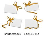 collection of various note card ... | Shutterstock . vector #152113415