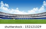 sports background   stadium | Shutterstock . vector #152121329