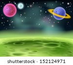 an illustration of an outer... | Shutterstock .eps vector #152124971