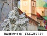 the fountain of robba fountain  ... | Shutterstock . vector #1521253784