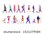 group of different people... | Shutterstock .eps vector #1521279584