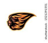 lion head mascot logo for...   Shutterstock .eps vector #1521291551