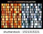 bronze and silver gradient....   Shutterstock .eps vector #1521315221