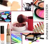 collage of cosmetic   Shutterstock . vector #152132534