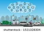 internet of things for smart... | Shutterstock .eps vector #1521328304