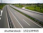 highway between town zagreb and ... | Shutterstock . vector #152139905