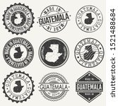 guatemala travel stamp made in... | Shutterstock .eps vector #1521488684