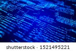 digital background whith matrix....   Shutterstock . vector #1521495221