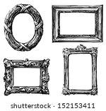vintage frames | Shutterstock . vector #152153411