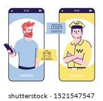 call taxi service smartphone...