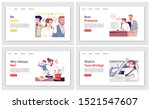 everyday stress landing page...   Shutterstock .eps vector #1521547607