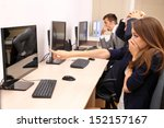 business people at work place | Shutterstock . vector #152157167