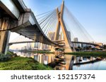 estaiada bridge  sao paulo ... | Shutterstock . vector #152157374
