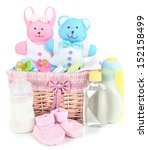 baby accessories isolated on... | Shutterstock . vector #152158499