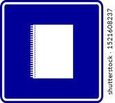 Spiral Bound Notebook Blue...