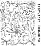 make today great font with... | Shutterstock .eps vector #1521710861