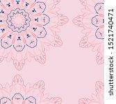 indonesian batik pattern...   Shutterstock .eps vector #1521740471