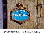 Plazuela de San Nicolas.