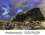 roofs by copacabana beach in... | Shutterstock . vector #152176229