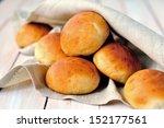 buttermilk dinner buns | Shutterstock . vector #152177561