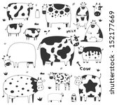 agriculture,animal,art,beef,black,bull,cartoon,cattle,collection,colorful,cow,cute,dairy,decoration,design