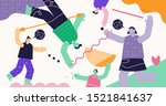 friendship connection abstract...   Shutterstock .eps vector #1521841637