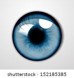 vector eye   Shutterstock .eps vector #152185385
