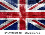 Great Britain Flag Painted On...