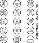 icon set of medical for...   Shutterstock .eps vector #1521922781