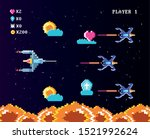 classic video game console of... | Shutterstock .eps vector #1521992624