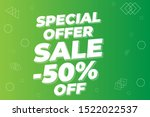 modern super sale banner and... | Shutterstock .eps vector #1522022537
