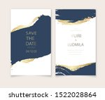 invitation cards with luxurious ... | Shutterstock .eps vector #1522028864