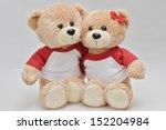 Couple Of Light Brown Teddy...