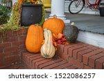 Pumpkin Fall Halloween Rural...