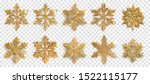 set of beautiful shiny complex...   Shutterstock .eps vector #1522115177