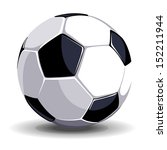 high quality isolated soccer ... | Shutterstock .eps vector #152211944