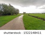 Concrete Path Meanders Between...