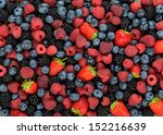 Background Of Different Berrie...