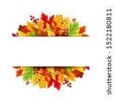 vector background banner with... | Shutterstock .eps vector #1522180811