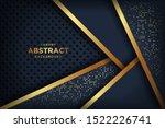 abstract luxury dark background ... | Shutterstock .eps vector #1522226741