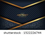 abstract luxury dark background ... | Shutterstock .eps vector #1522226744