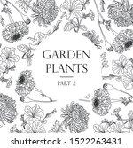 vector images of garden plants | Shutterstock .eps vector #1522263431