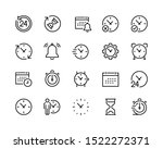 calendar and  lock icons set. ... | Shutterstock .eps vector #1522272371
