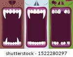 halloween banners set with... | Shutterstock .eps vector #1522280297