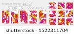 creative backgrounds for social ... | Shutterstock .eps vector #1522311704